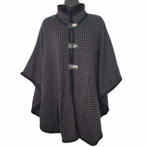 Northern Reflections Women's Houndstooth Cape